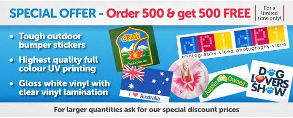 Special Offer - Order 500 & get 500 FREE