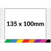 135x100mm Printed Paper or Synthetic Labels