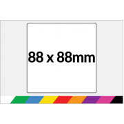 88x88mm Printed Paper or Synthetic Labels